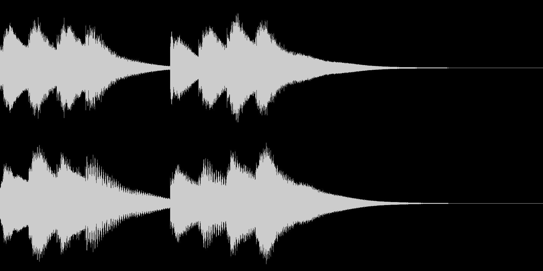 学校のチャイム 3の未再生の波形