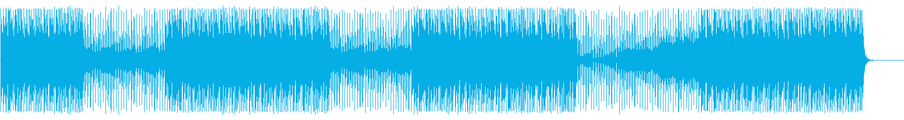 ディレイを活かしたHip-HopBeatの再生済みの波形