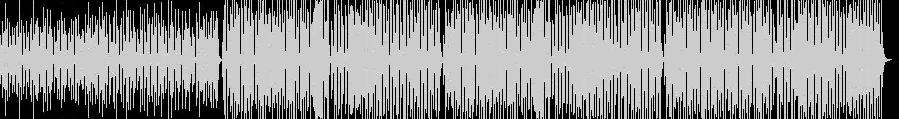 チープで可愛いジングルベルの未再生の波形