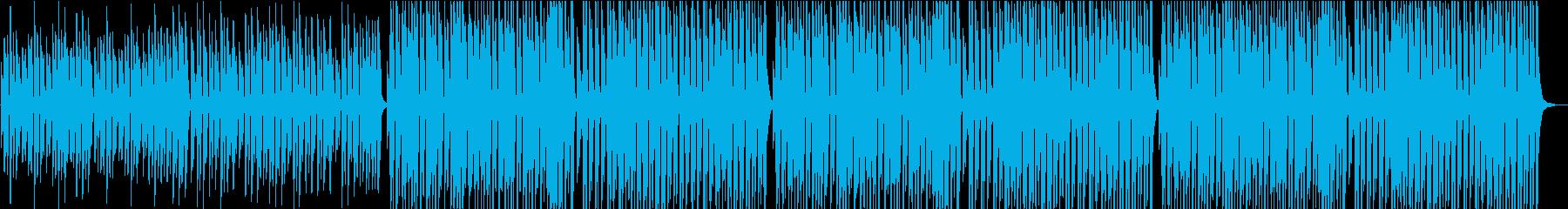 チープで可愛いジングルベルの再生済みの波形