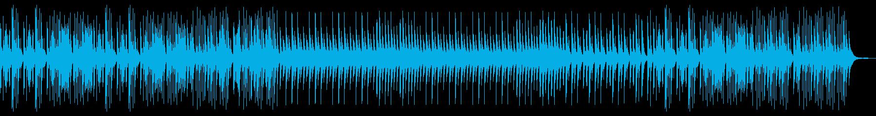 愛と悲しみをイメージしたオルゴールの再生済みの波形