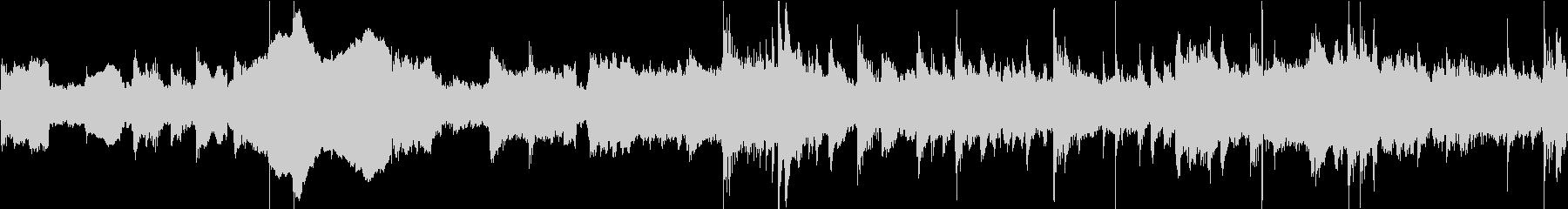 二胡と古琴による中華バラードの未再生の波形