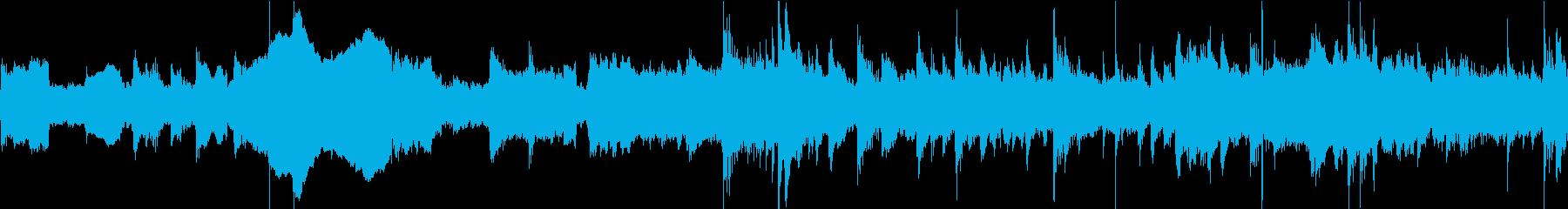 二胡と古琴による中華バラードの再生済みの波形