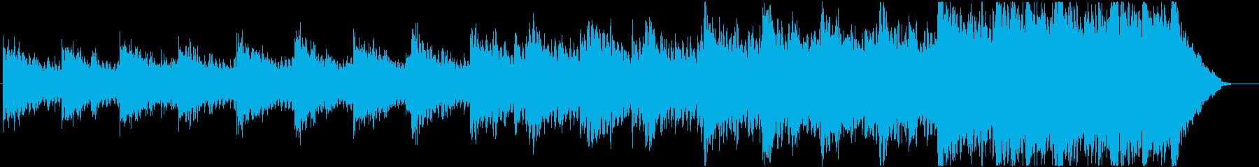緊迫感のあるシネマティックBGMの再生済みの波形