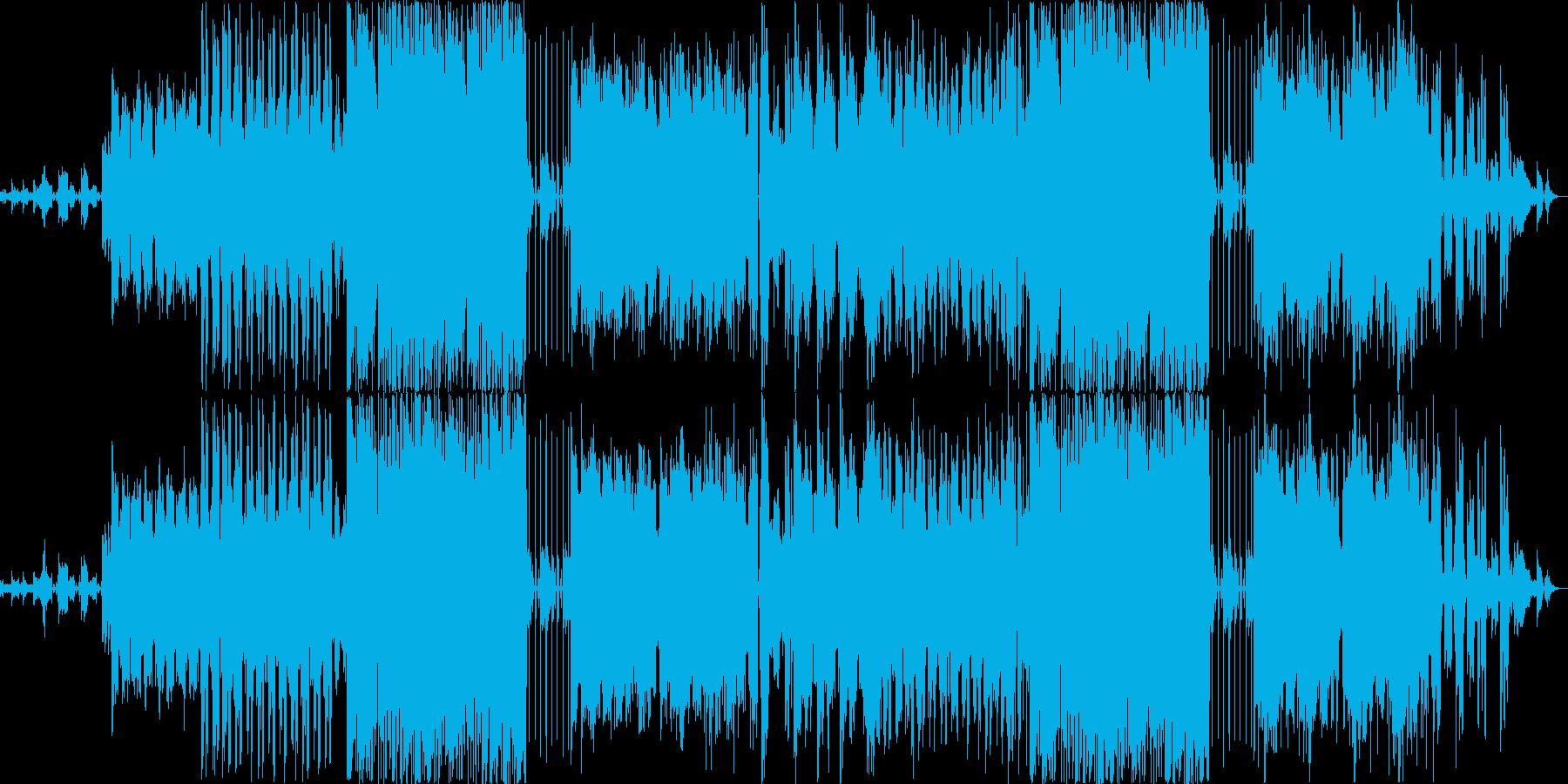 テンションとサスペンスの再生済みの波形