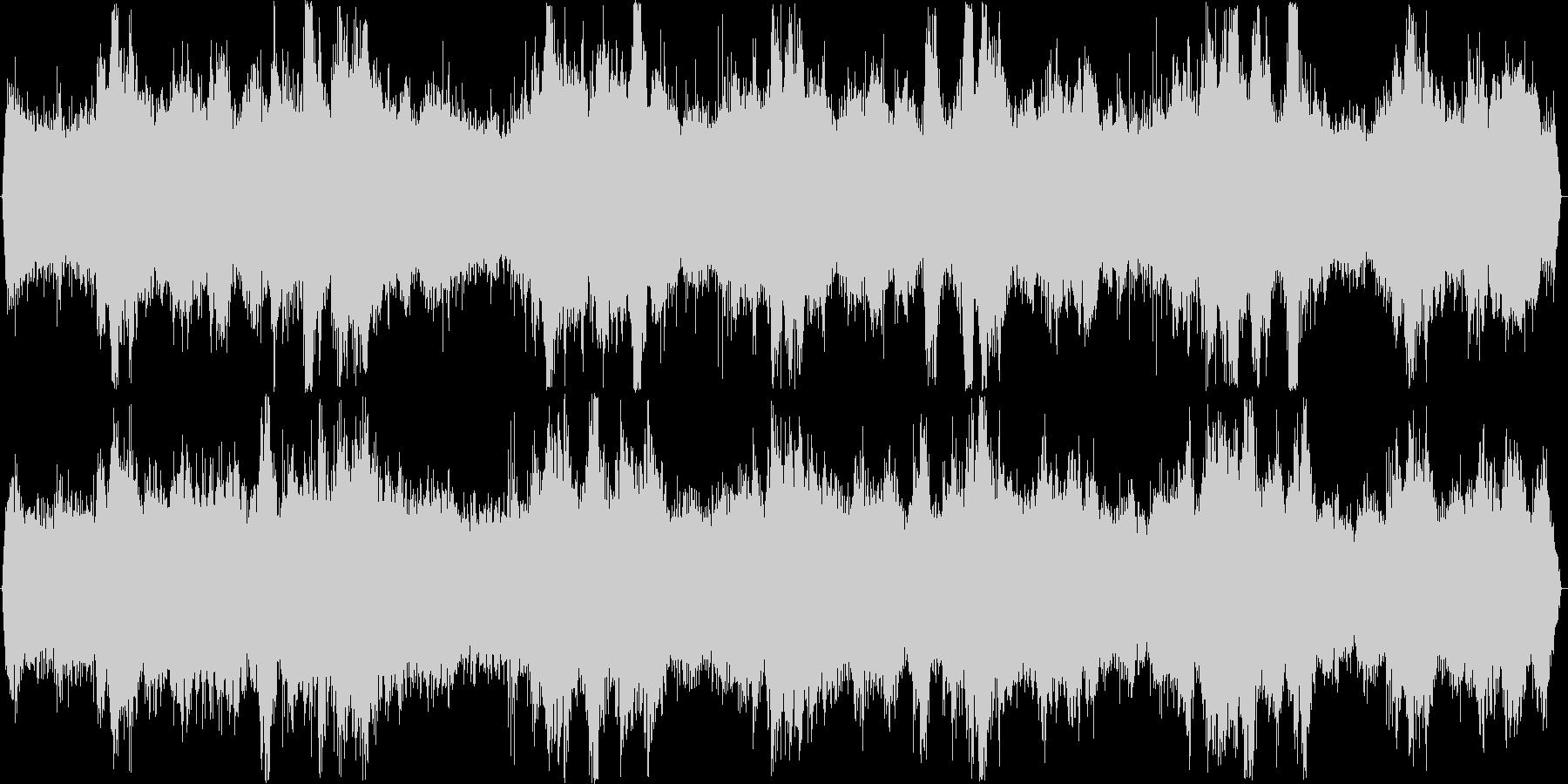 スピーカーからの再生に特化した、疑似立…の未再生の波形