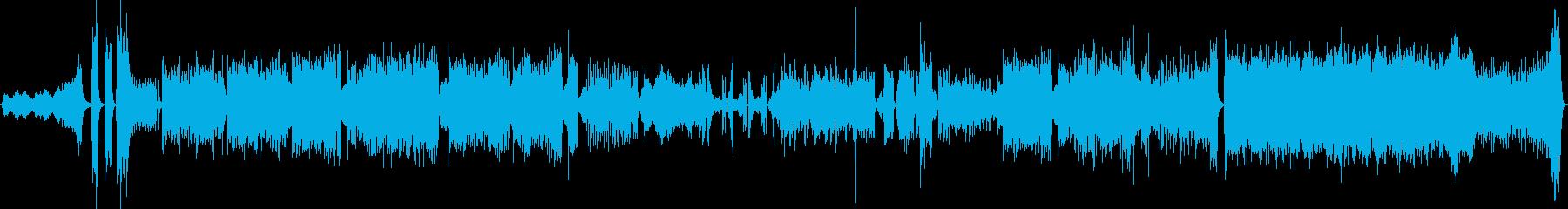 変拍子の宇宙系フュージョンの再生済みの波形