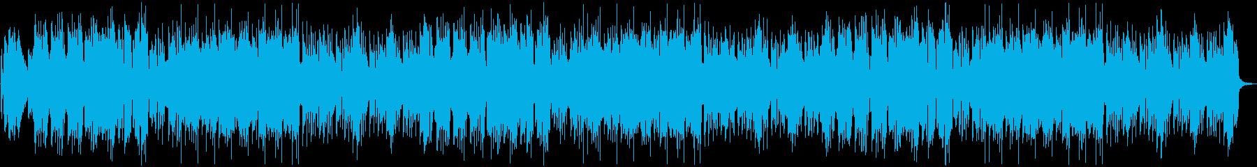 和風のお便りコーナー的なBGMの再生済みの波形