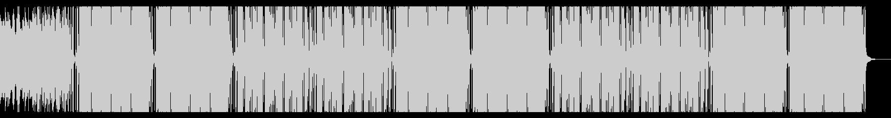 テクスチャー系アンビエントHipHopの未再生の波形