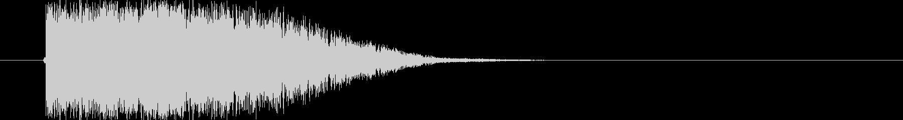 タイトル_ロゴ表示の未再生の波形
