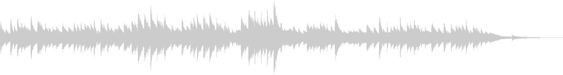 シューマンピアノ有名曲 おねだりする子供の未再生の波形