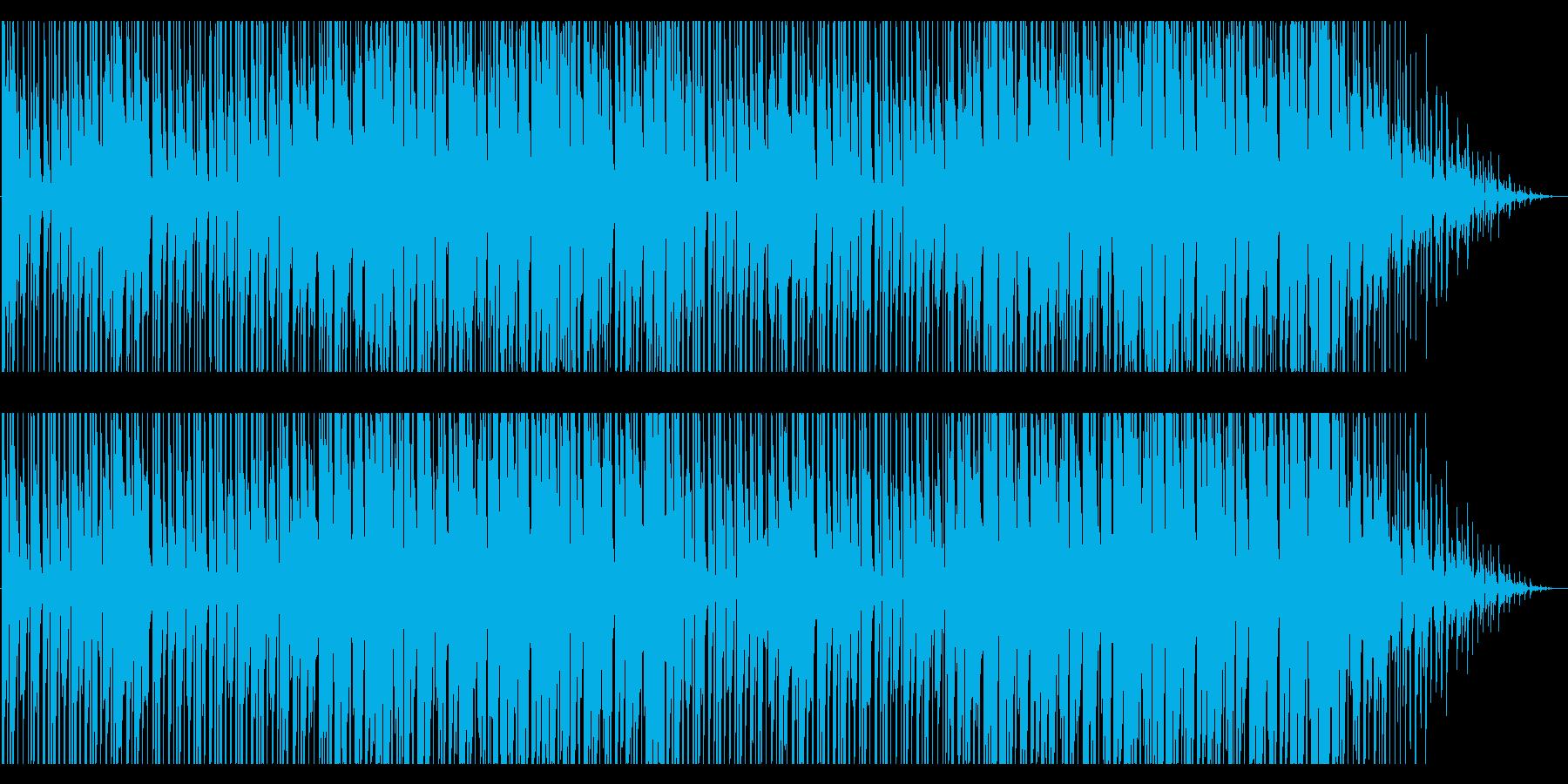 寒さが近づいてくるようなBGMの再生済みの波形