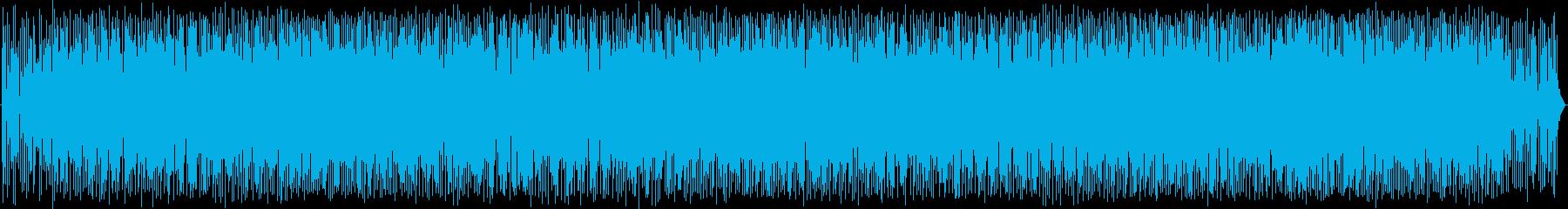 希少な背景の再生済みの波形