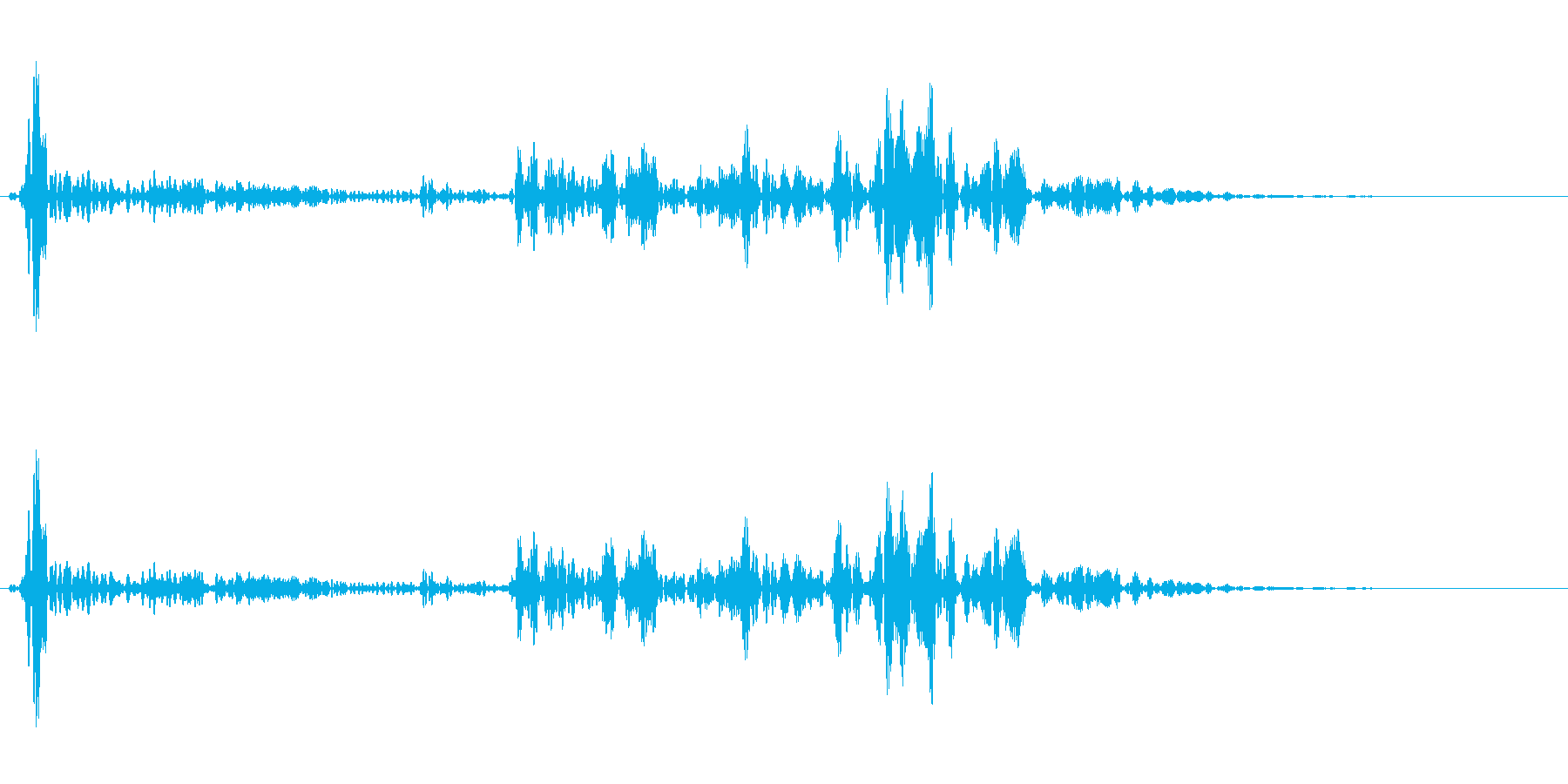 ブルォロロロ(補助魔法系SE)の再生済みの波形