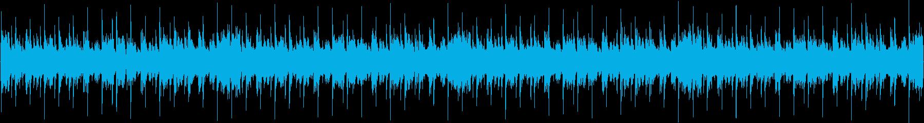 144bpm、G#-min、ギターソロの再生済みの波形