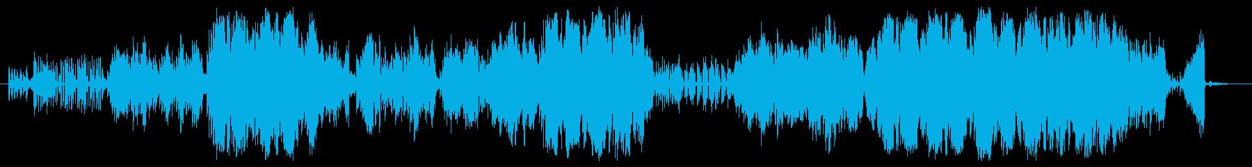ドミノワルツの再生済みの波形