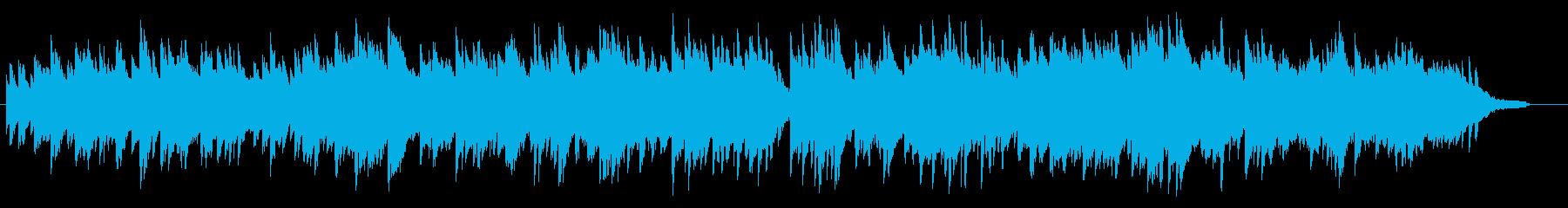 爽やかで切ない、やさしいピアノBGMの再生済みの波形