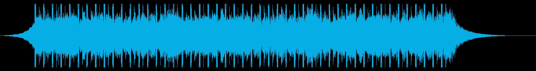 教育(30秒)の再生済みの波形