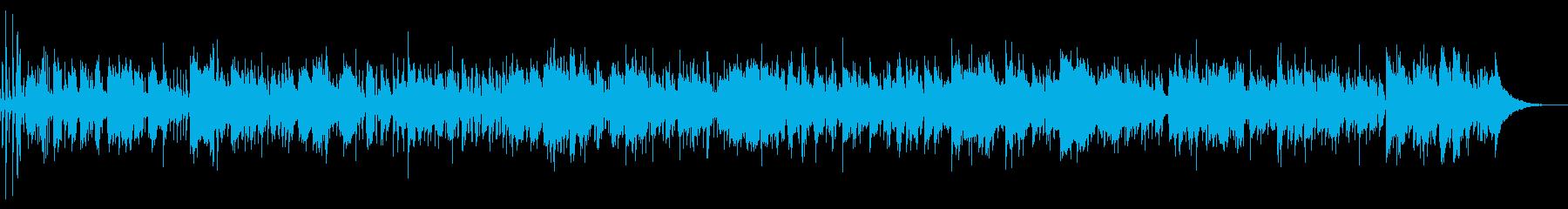 都会的イメージのBGM スムースジャズの再生済みの波形