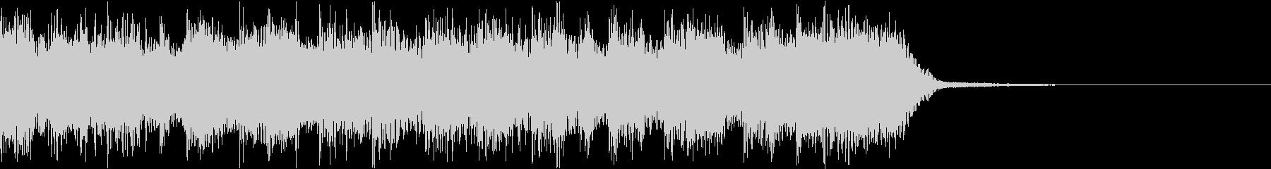 エネルギッシュ・ロックなサウンドロゴ09の未再生の波形