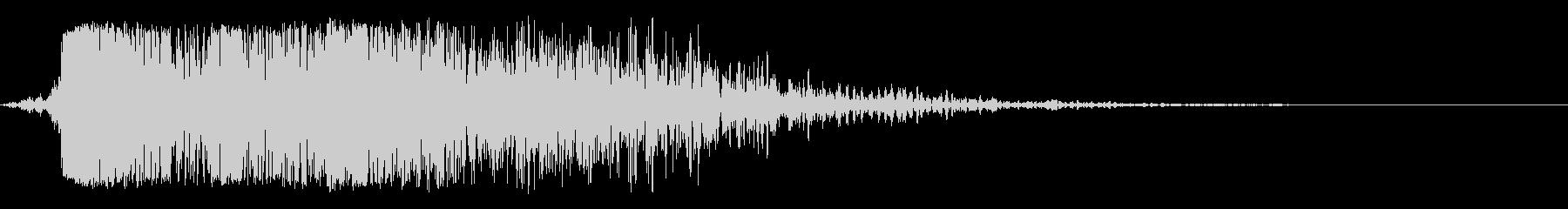 ピアスメタルインパクト、フォリーの未再生の波形