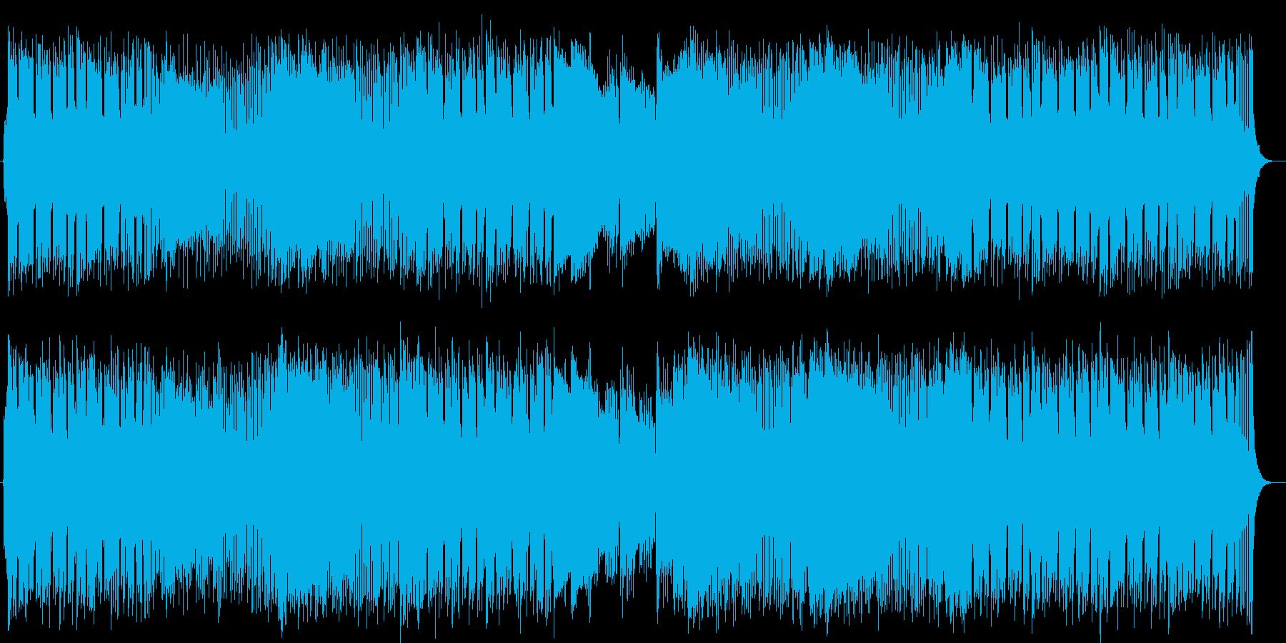 雄大でファンタジーなシンセサウンドの再生済みの波形