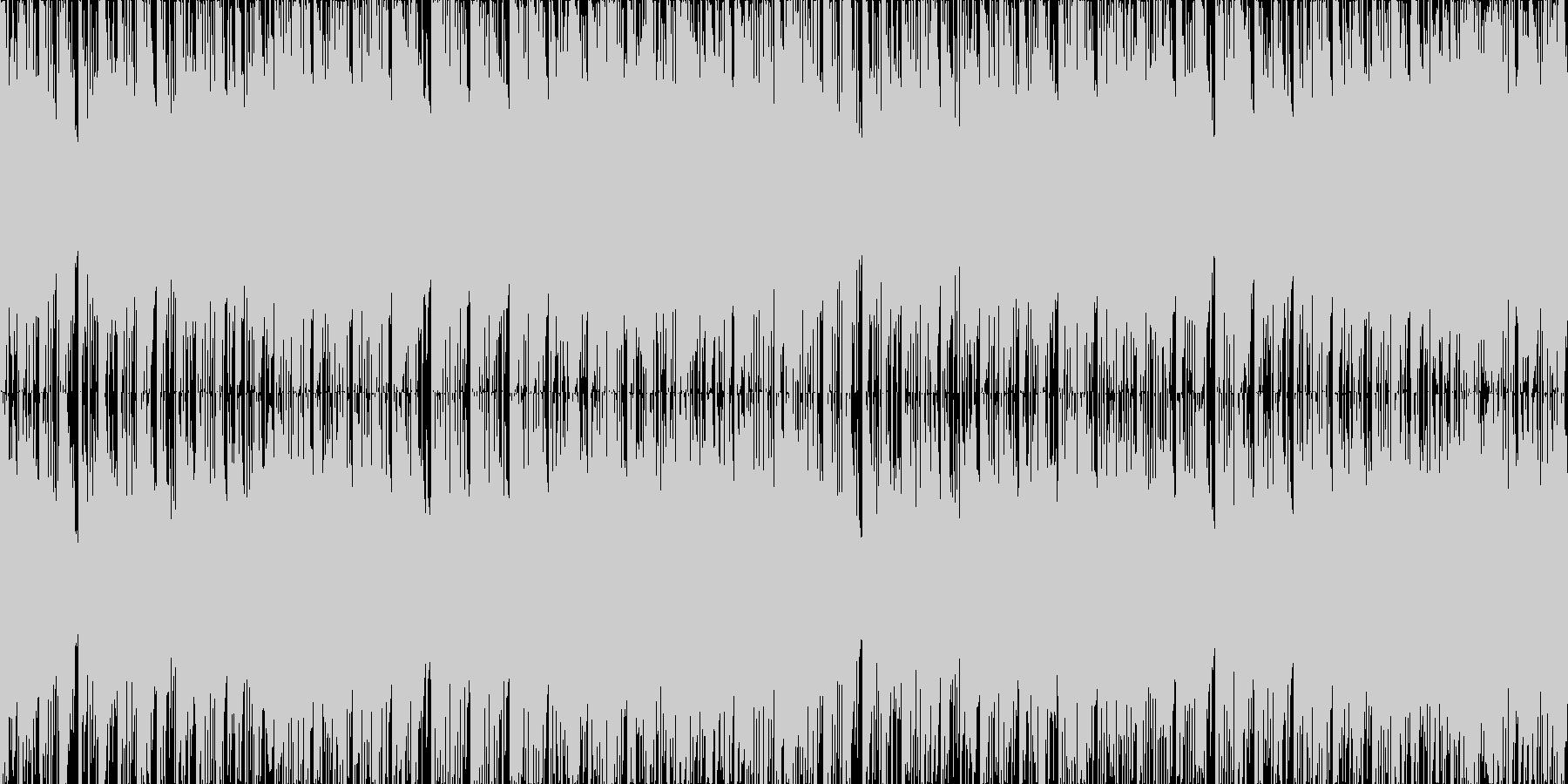 ループ使用可能な戦闘曲です。パズルゲー…の未再生の波形