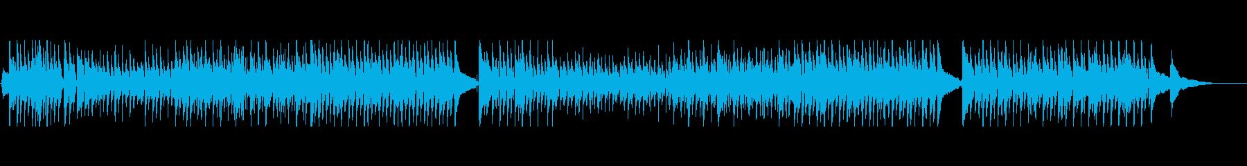 バイオリンとアコギのオーガニックな曲の再生済みの波形