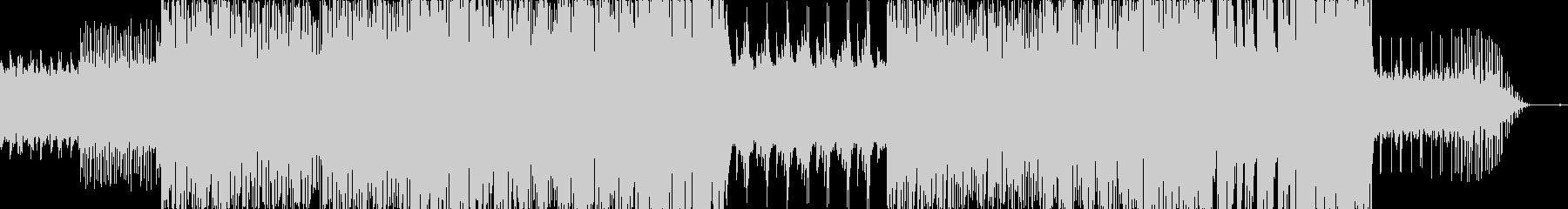 アンビエント系の優しいヒーリングポップスの未再生の波形