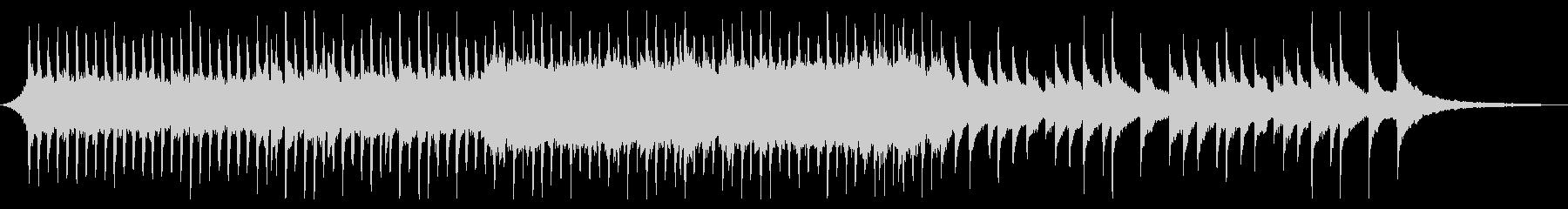 ショートver 希望の光 ピアノ・弦の未再生の波形