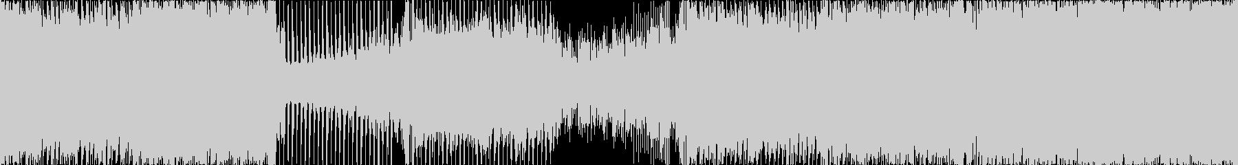 【ループ仕様】明るい雰囲気で前向きな楽曲の未再生の波形
