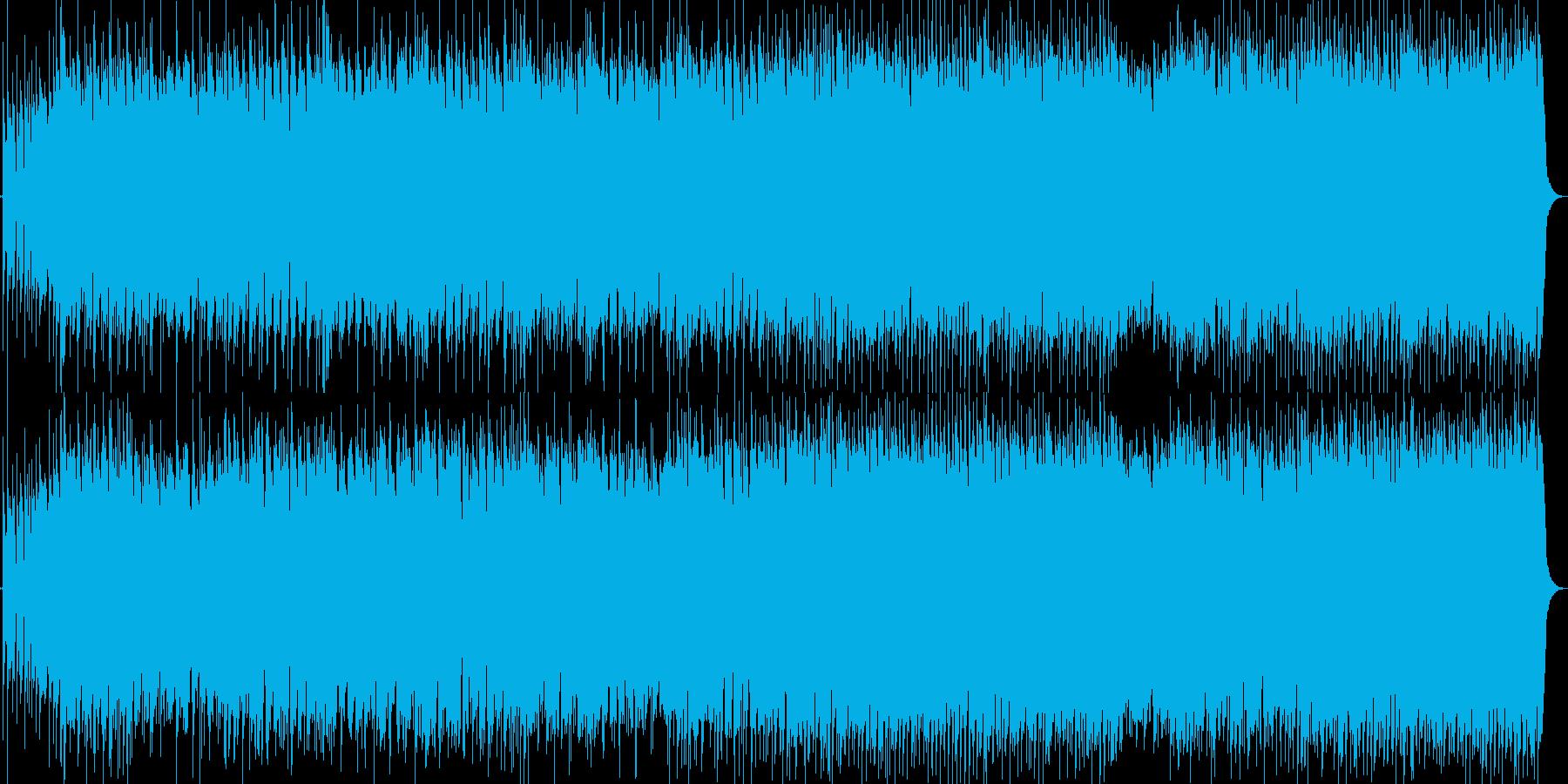 民謡のジャジーでファンキーなアレンジの再生済みの波形