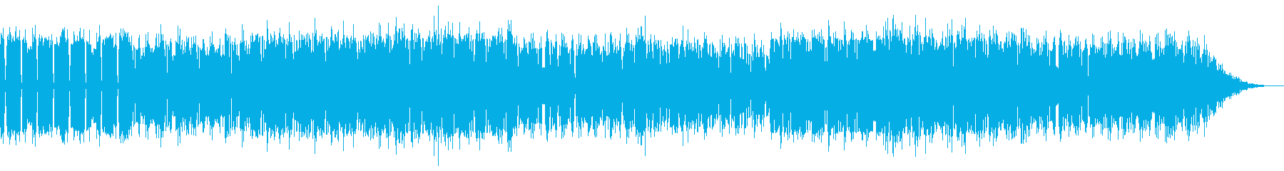 YouTuber用ファミコン風BGM1の再生済みの波形