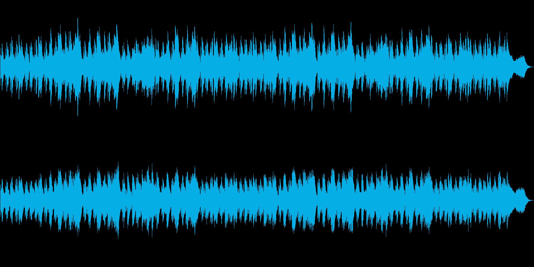 科学/分析/検証をイメージしたBGM_1の再生済みの波形