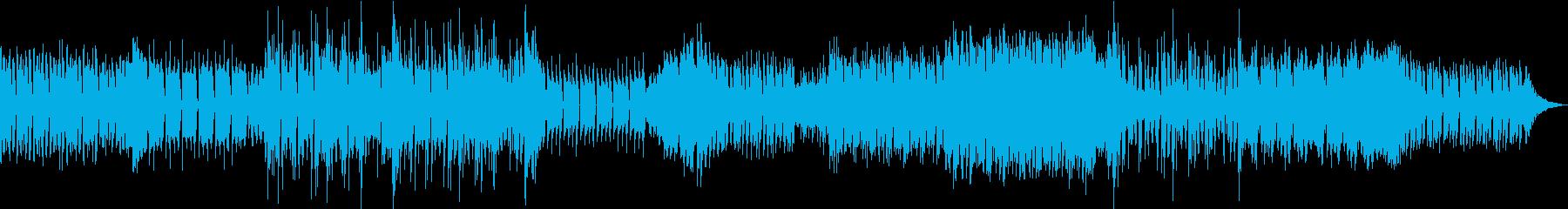 場面転換の多いフューチャー系EDMの再生済みの波形
