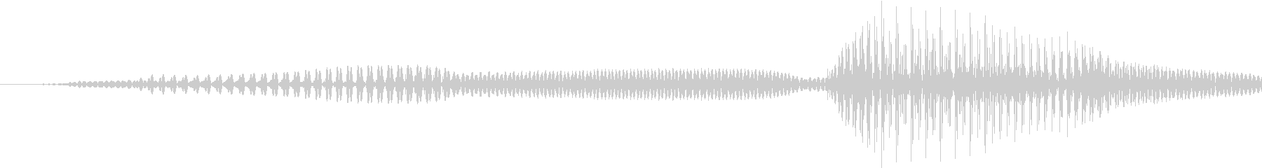 問題!女の子の声の未再生の波形