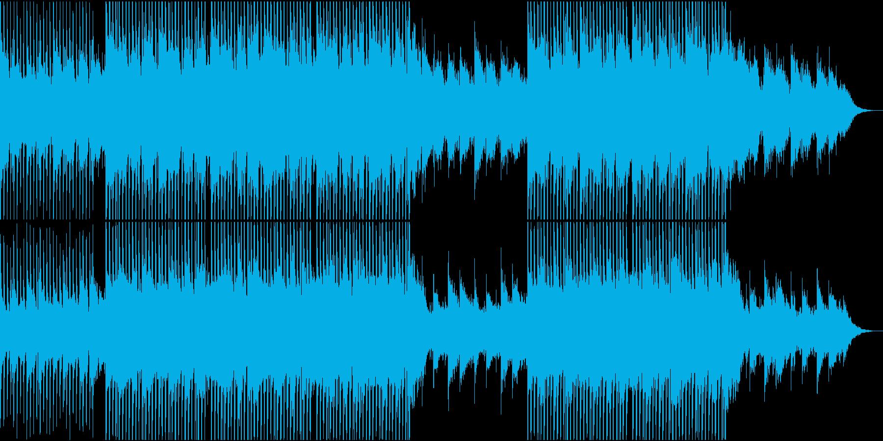 アンビエント モダン 実験的 未来...の再生済みの波形