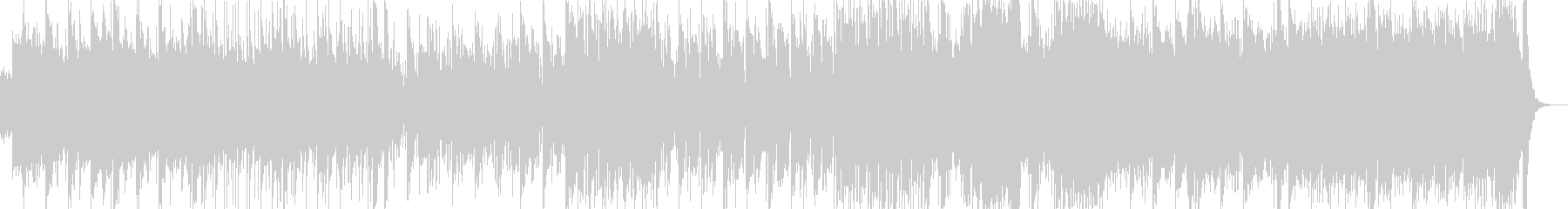 三味線・尺八・琴・和太鼓とストリングスの未再生の波形