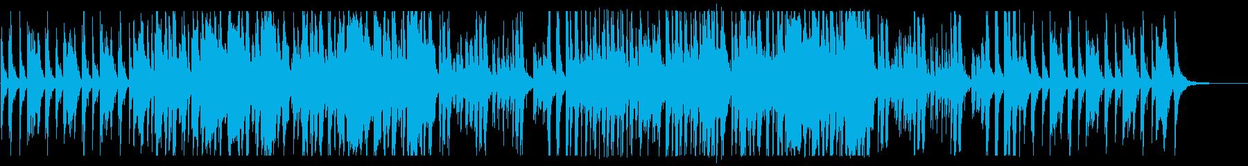 笛と琴の軽妙な和風曲/映像/昔話/物語の再生済みの波形