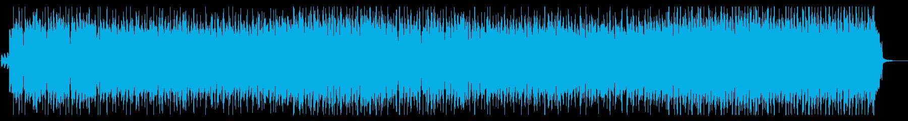 【ハロウィン】怪しげで賑やかなBGMの再生済みの波形
