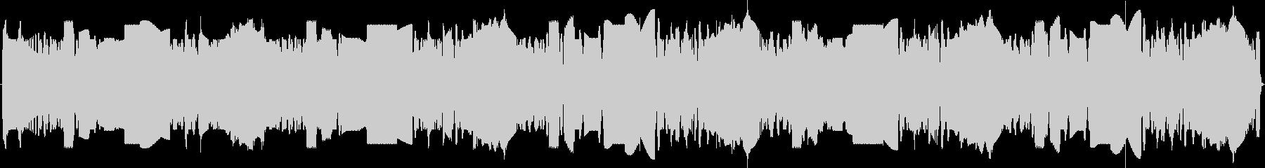 ロボット風の電子音の未再生の波形