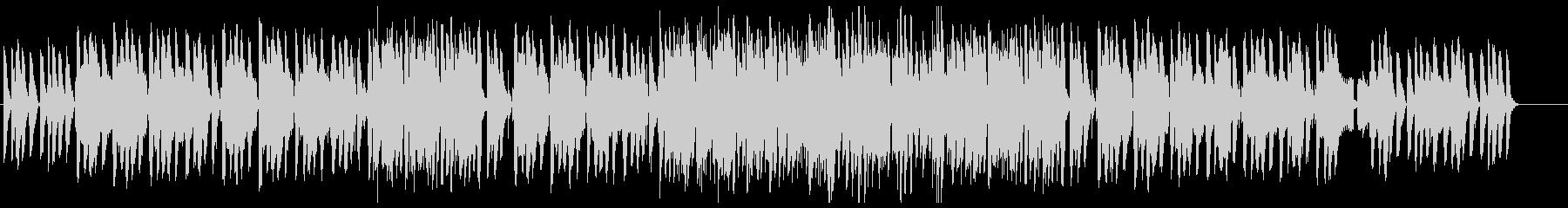 暖かい雰囲気のジャズ(カルテットver)の未再生の波形