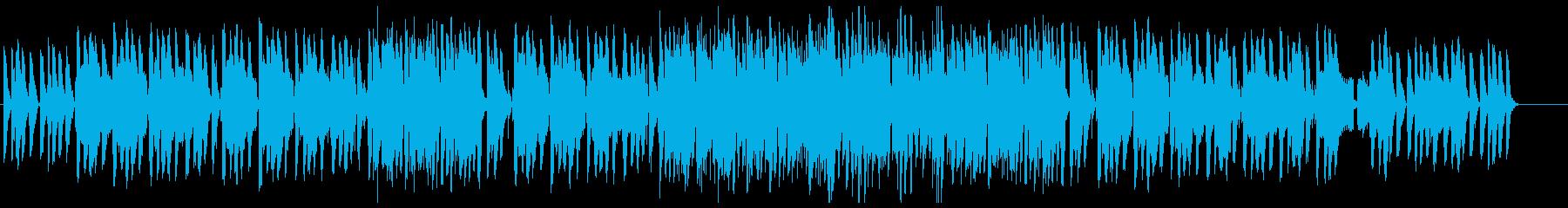 暖かい雰囲気のジャズ(カルテットver)の再生済みの波形