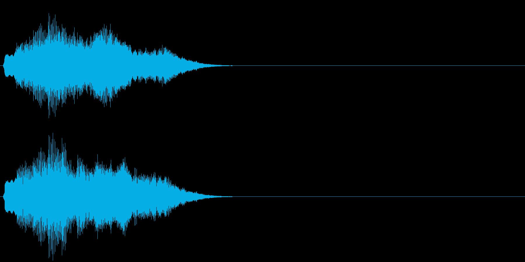 汎用 キラキラ系09(特大) 場面転換の再生済みの波形