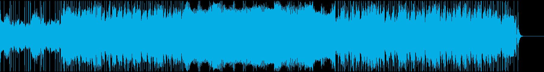 エスニックサウンドのパーカッション...の再生済みの波形