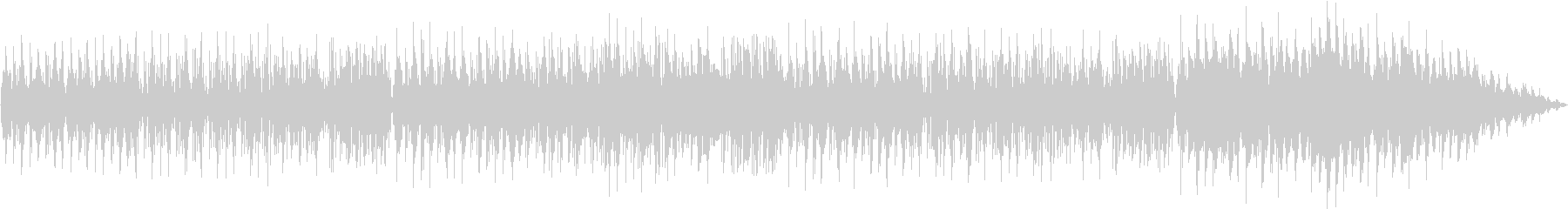 ナイロンギター・ブラジリアンジャズの未再生の波形