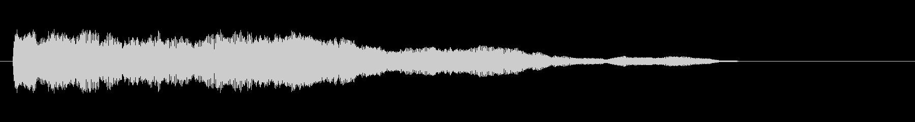 素材 シンセチャープ01の未再生の波形