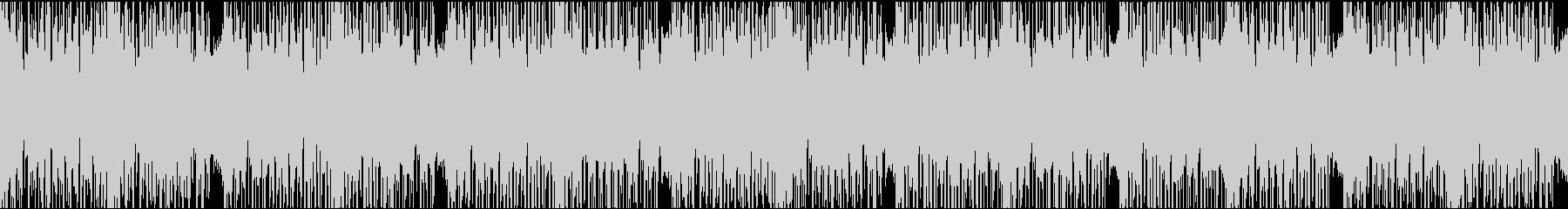 ダークエレクトロ/ループの未再生の波形