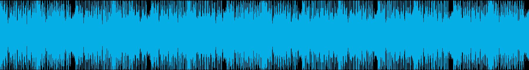 ダークエレクトロ/ループの再生済みの波形