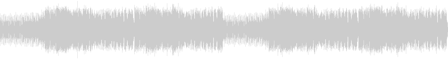 スピード感 躍動的サックスジャズビート の未再生の波形